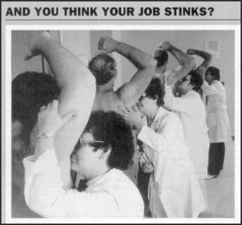 Your job stinks?